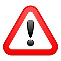 warning red triangular sign lack-o keen fotolia com