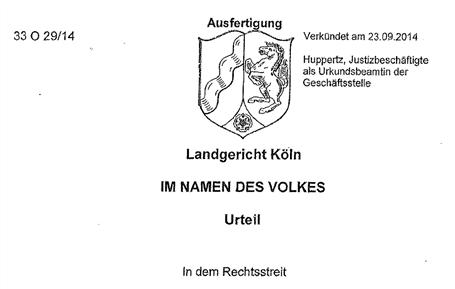 33o29 14 lg kln - Modifizierte Unterlassungserklarung Muster