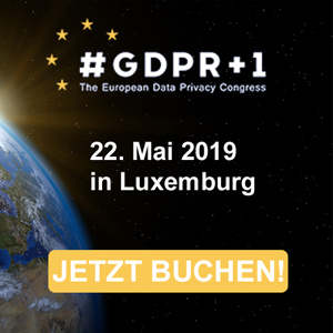 GDPR+1 European Data Privacy Congress - BOOK NOW