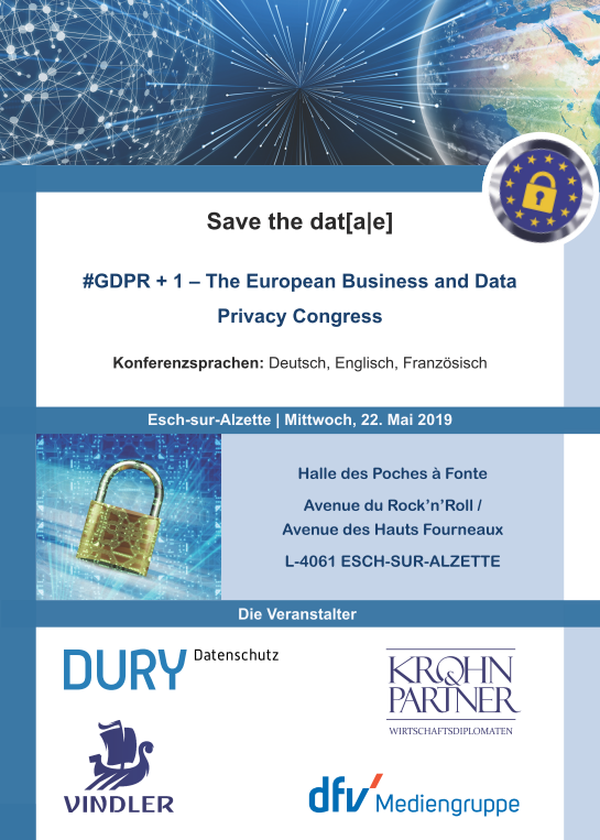 GDPR Congress Europe Luxembourg Privacy