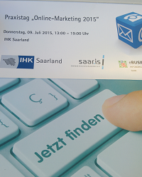 Online Marketing Praxistag Saarbrücken 2015