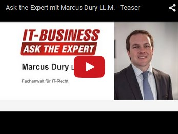 youtube Experteninterview Dury